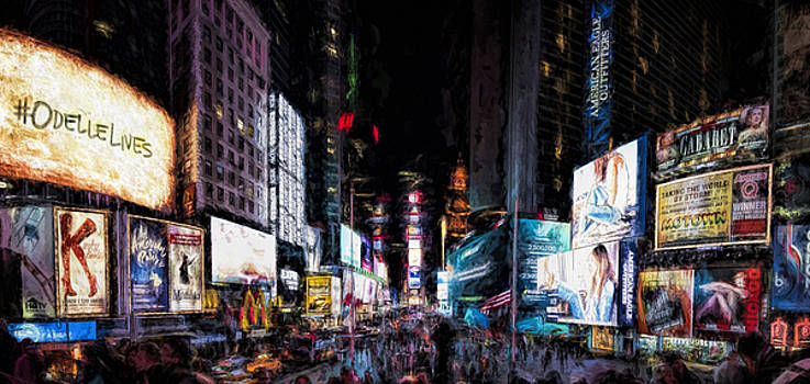 Times Square by Joe Sparks