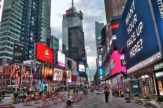 Times Square New York City 102 by Timothy Lowry