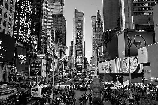 Times Square New York City by Gregory Varano