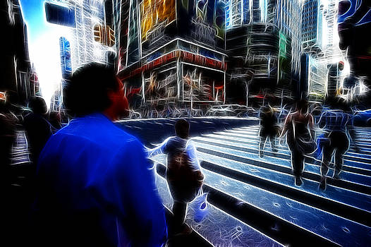 LAWRENCE CHRISTOPHER - TIMES SQUARE NEW YORK CITY