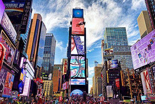 Robert Meyers-Lussier - Times Square Summer 2016