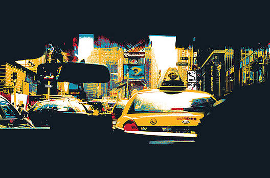 Times Square Taxi Cab by Shay Culligan