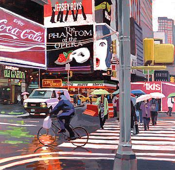 Times Square Umbrellas by Patti Mollica