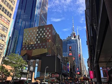 Times Square by Val Oconnor