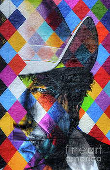 Wayne Moran - Times They Are A Changing Giant Bob Dylan Mural Minneapolis Detail 3