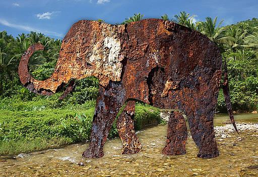 Tin Elephant by Marvin Blaine