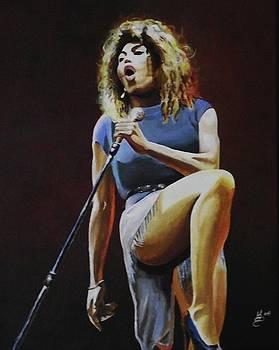 Tina Turner by Kim Selig