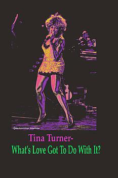 Tina Turner by Michael Chatman