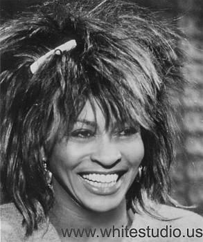 Tina Turner by Oudi Aarroni