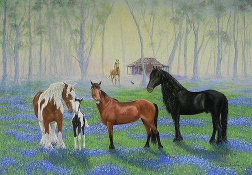 Tinas Meadow by Louise Green