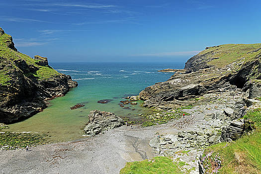 Tintagel Haven by Rod Johnson