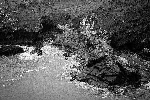 Tintagel Rocks by Ross Henton