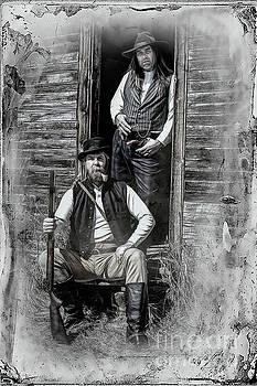 Tintype Portrait Reproduction by Brad Allen Fine Art
