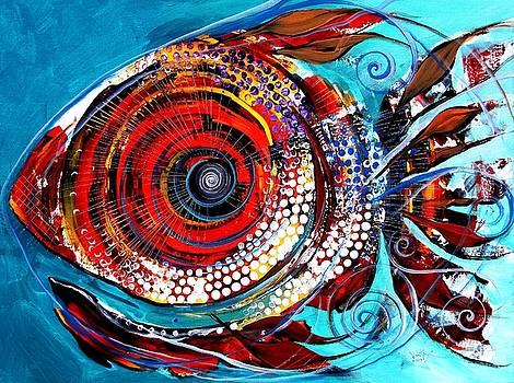 Tiny Blue Pill by J Vincent Scarpace