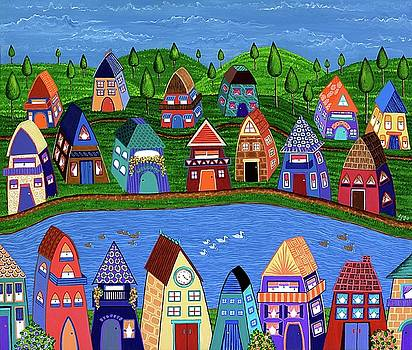 Tiny Houses by the River by Lisa Frances Judd
