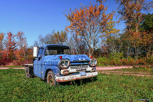 Tired Chevy Truck by Ken Morris