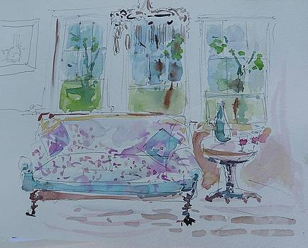 Tis the Livingroom by Donna Eaton
