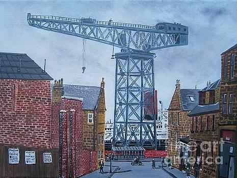 Titan Crane Greenock by Neal Crossan