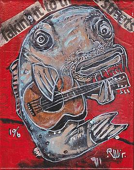 Blues Cat by Robert Wolverton Jr