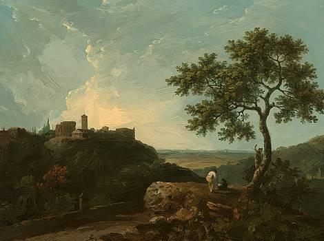 Wilson Richard - Tivoli The Temple Of The Sybil And The Campagna 1765