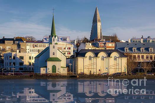 Tjornin Lake, Reykjavik by Jerry Fornarotto