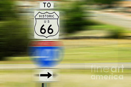 To Historic U.S. Route 66 by MaryJane Armstrong