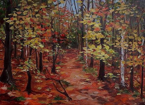 To The Artist Cabin, Killarney by Monica Ironside