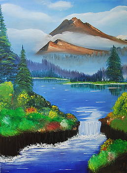 To the memory of Bob Ross by Srija Chartham