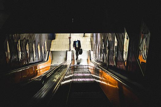 To The Train by Jan Schwarz