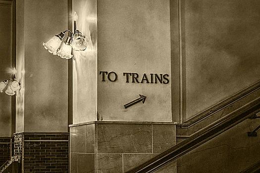 Sharon Popek - To Trains