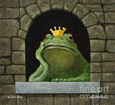 Toad King... by Will Bullas