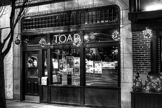 Toad Porter Square Cambridge MA Black and White by Toby McGuire