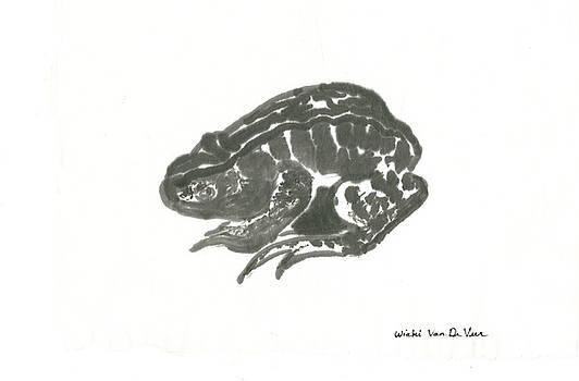 Toad by Wicki Van De Veer