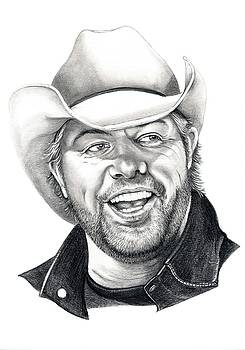 Toby Keith by Murphy Elliott