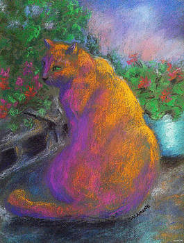 Toby's Garden Path by Brenda Salamone