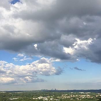 Boston Skyline by Jake Cockerill