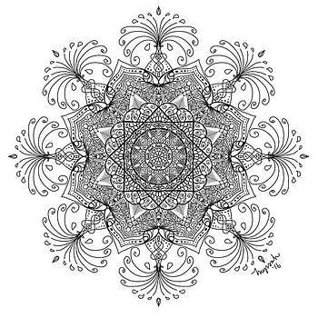 Prosperity Mandala by Myssah Lee