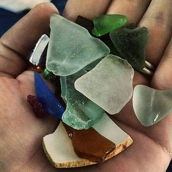 Today's #seaglass Haul by Melissa Yosua-Davis