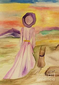 Maria Urso - Together at Sunset