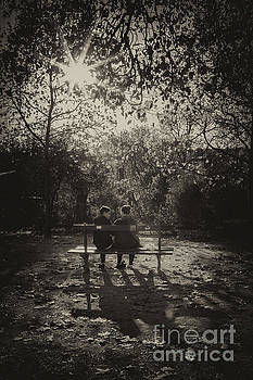 Together in park by Hitendra SINKAR