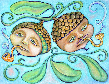 Toking Acorns by Rachel Cotton