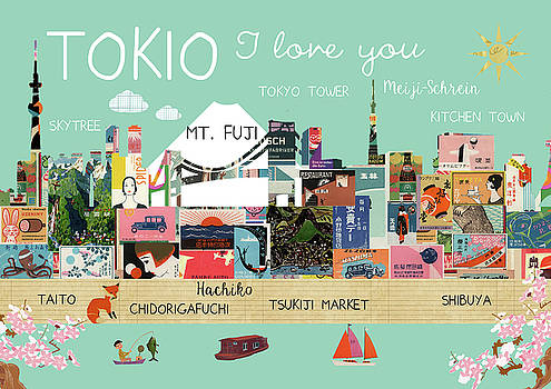 Tokio I love you by Claudia Schoen