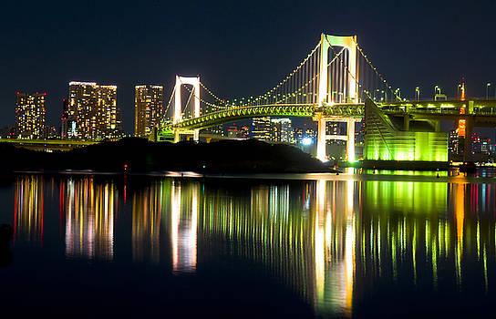 Tokyo at night by Kobby Dagan