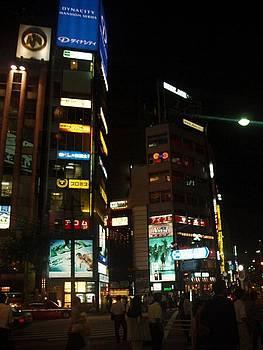Tokyo nightlife by Keira MacVinish