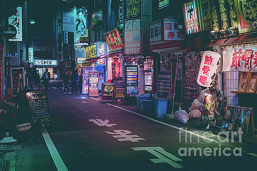 Tokyo Side Streets, Japan by Perry Rodriguez