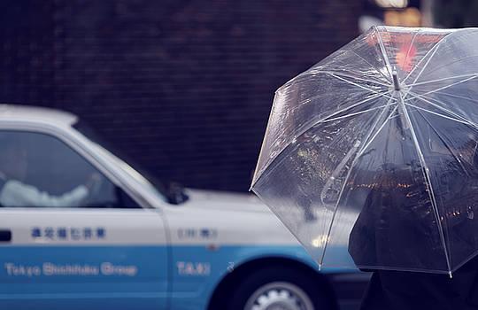 Tokyo taxi  by David Harding