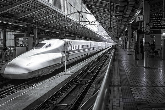 Tokyo to Kyoto, Bullet Train, Japan by Perry Rodriguez