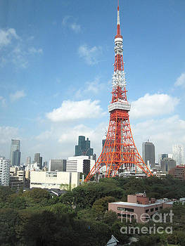 Tokyo Tower by Brandy Woods