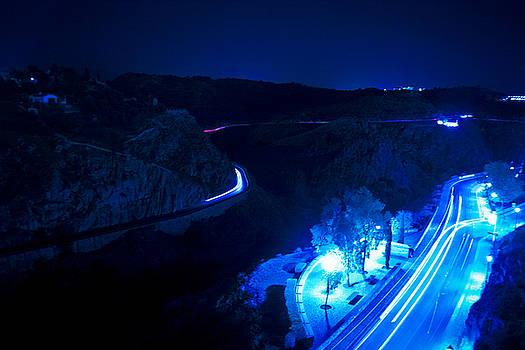 Toledo Nightscape 1 by Jonathan Hansen