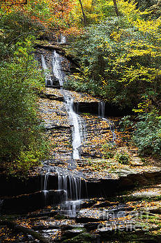 Jill Lang - Tom Branch Falls in North Carolina